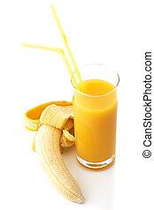 Banana and juice