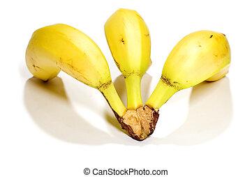 Banana back view