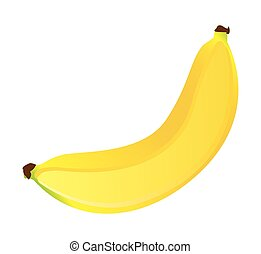 banana fresh fuit healthy isolated icon vector illustration...