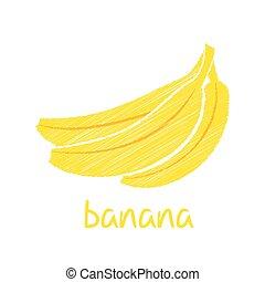 banana fruit design