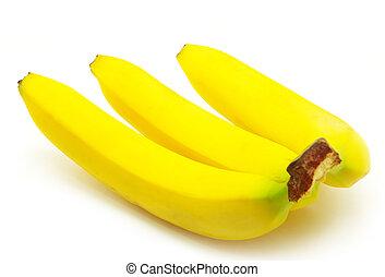 banana fruits isolated on white background