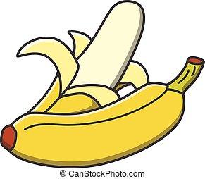 banana, frutte