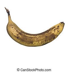 Banana going bad.