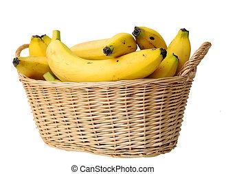 banana in basket