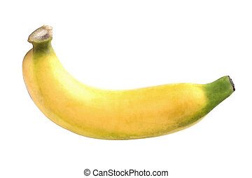 Banana isolate on white background