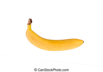 Banana, isolated on white background