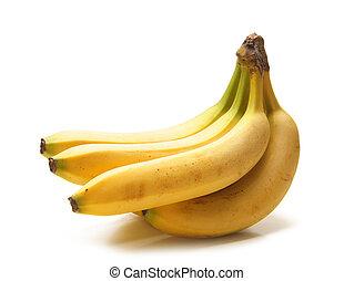 banana isolated on white