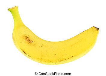 Banana isolated over white background