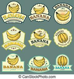 Banana labels