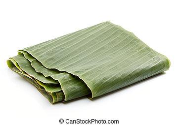 banana leaf folded