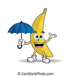 Banana mascot character
