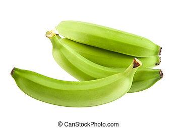 banana on a black background