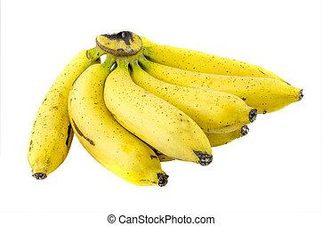 Banana on isolated background