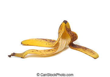 Banana Peel - Banana peel isolated on white background