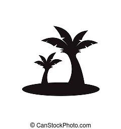 banana tree icon
