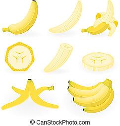 Banana - Vector illustration of banana