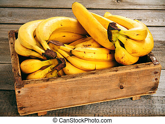 Bananas in a box