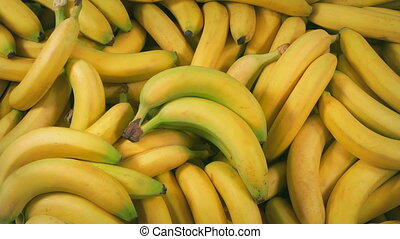 Bananas Picked Up - Bunches And Single Banana