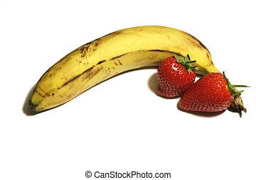 Banana&strawberries