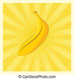 banane, fond