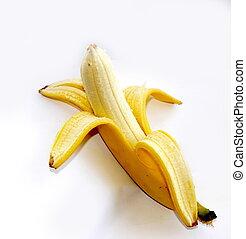 banane pelée