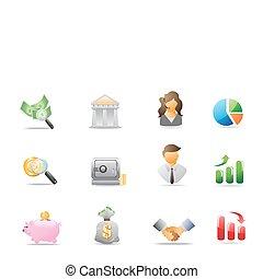 banca, icone