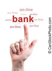 bancario,  internet