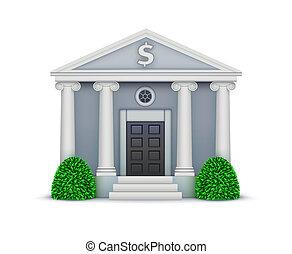 banco, ícone