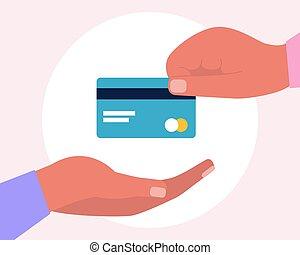 banco, card.