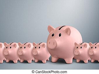 banco, concepto, bancos guarros, fila, mejor
