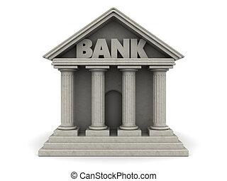 banco, edificio