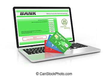 banco internet, service.