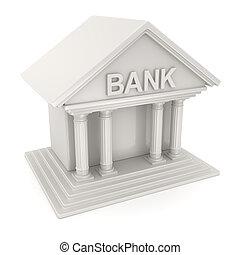 banco, símbolo