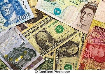 banconote, internazionale