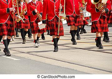 band- marschieren
