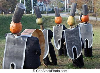 Band pumpkins