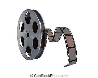 Band, Spule, verdreht,  Film, kino
