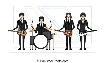 band, themen, beatles