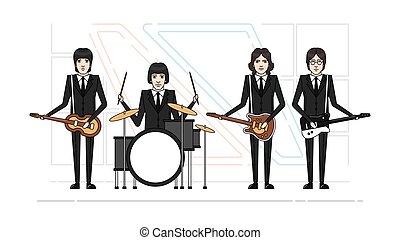 band, themen, beatles
