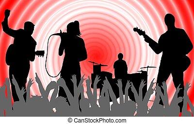 banda, música