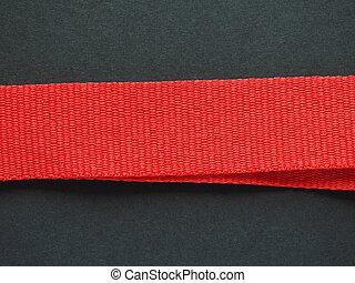 banda, nastro rosso