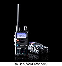 banda, walkie-talkie, dos, dual