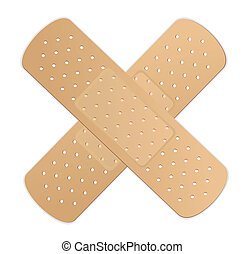 bandage adesivo, vetorial