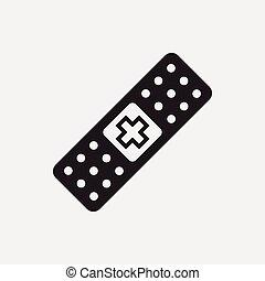 bandage, icône