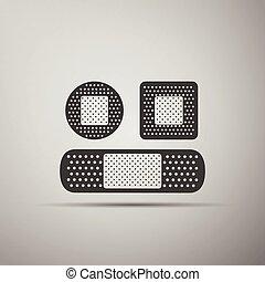 Bandage plaster icon.