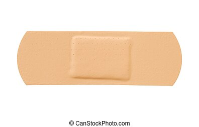 Bandage - Isolated adhesive bandage