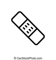 bandage thin line icon