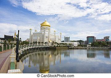 Bandar Seri Begawan, Brunei - Image of the capital of oil...