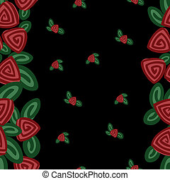 bandas, rosas