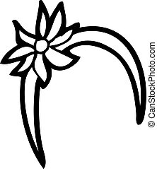 bande cheveux, alice, dessin animé